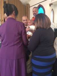 Carter Denny baby dedication